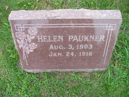 PAUKNER, HELEN - Bremer County, Iowa | HELEN PAUKNER