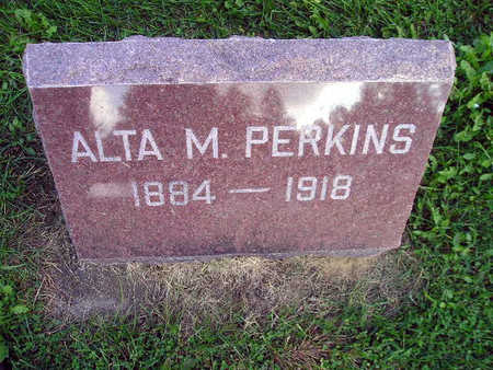 PERKINS, ALTA M - Bremer County, Iowa | ALTA M PERKINS