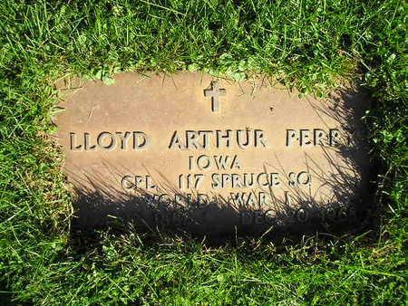 PERR, LLOYD ARTHUR - Bremer County, Iowa | LLOYD ARTHUR PERR
