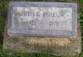 PERROW, RUTH - Bremer County, Iowa | RUTH PERROW