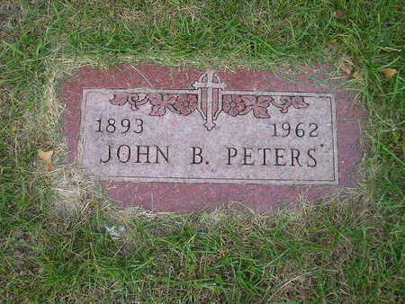 PETERS, JOHN B - Bremer County, Iowa | JOHN B PETERS