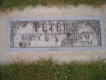 PETERS, BETTY R - Bremer County, Iowa | BETTY R PETERS