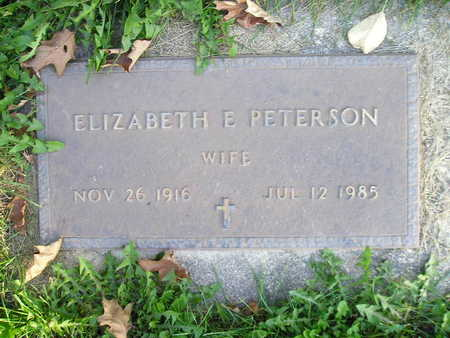 PETERSON, ELIZABETH E - Bremer County, Iowa | ELIZABETH E PETERSON