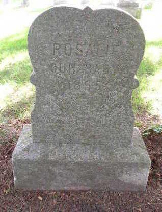 PFUND, ROSALIE - Bremer County, Iowa | ROSALIE PFUND