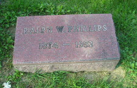 PHILLIPS, RALPH W - Bremer County, Iowa | RALPH W PHILLIPS