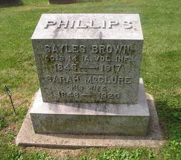 PHILLIPS, SARAH - Bremer County, Iowa | SARAH PHILLIPS