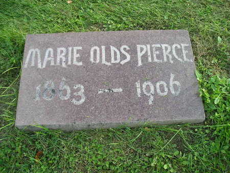 OLDS PIERCE, MARIE - Bremer County, Iowa | MARIE OLDS PIERCE