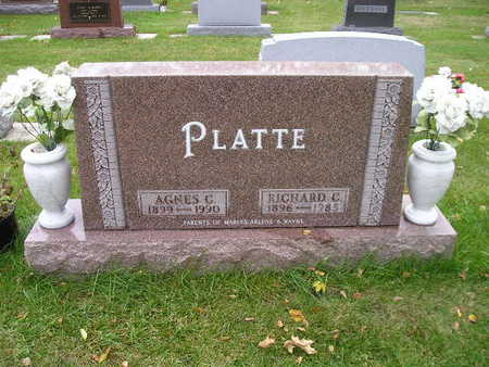 PLATTE, RICHARD C - Bremer County, Iowa | RICHARD C PLATTE