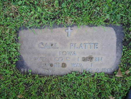 PLATTE, CARL - Bremer County, Iowa | CARL PLATTE