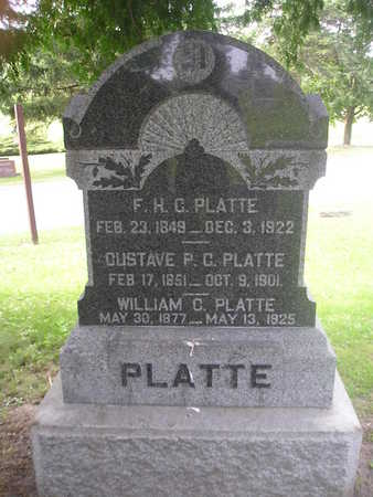 PLATTE, WILLIAM C. - Bremer County, Iowa | WILLIAM C. PLATTE