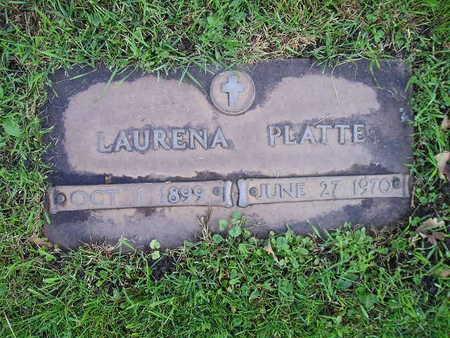 PLATTE, LAURENA - Bremer County, Iowa | LAURENA PLATTE