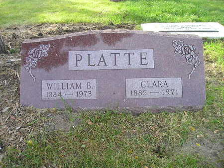 PLATTE, WILLIAM B - Bremer County, Iowa | WILLIAM B PLATTE