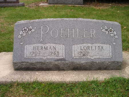 POEHLER, HERMAN - Bremer County, Iowa | HERMAN POEHLER
