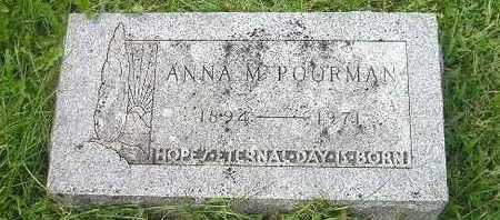 POORMAN, ANNA - Bremer County, Iowa | ANNA POORMAN