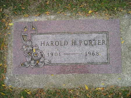 PORTER, HAROLD H - Bremer County, Iowa | HAROLD H PORTER