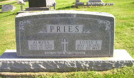 PRIES, LOUIS F - Bremer County, Iowa | LOUIS F PRIES
