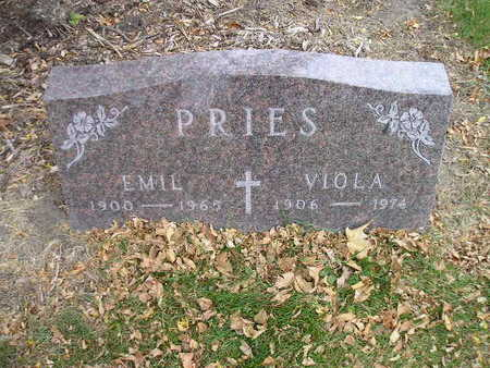 PRIES, EMIL - Bremer County, Iowa | EMIL PRIES