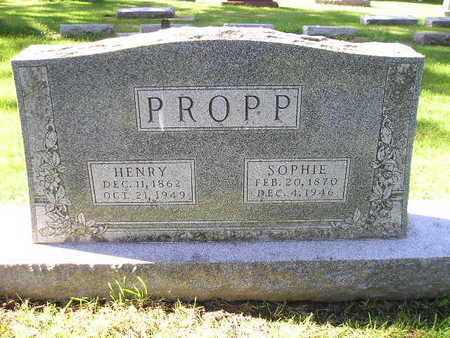 PROPP, SOPHIE - Bremer County, Iowa | SOPHIE PROPP