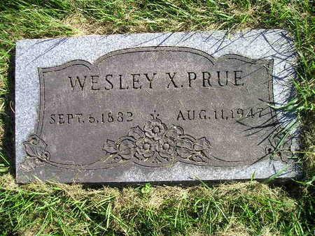 PRUE, WESLEY X - Bremer County, Iowa | WESLEY X PRUE