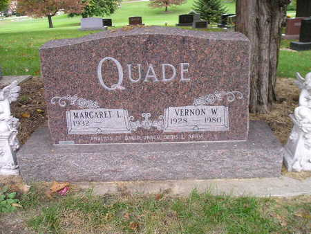 QUADE, MARGARET L - Bremer County, Iowa | MARGARET L QUADE