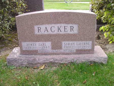 RACKER, DEWEY EARL - Bremer County, Iowa | DEWEY EARL RACKER