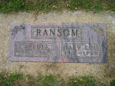 RANSOM, CARROLL - Bremer County, Iowa | CARROLL RANSOM