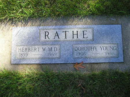 YOUNG RATHE, DOROTHY - Bremer County, Iowa | DOROTHY YOUNG RATHE