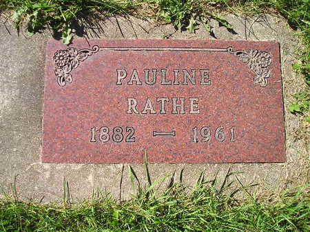 RATHE, PAULINE - Bremer County, Iowa | PAULINE RATHE