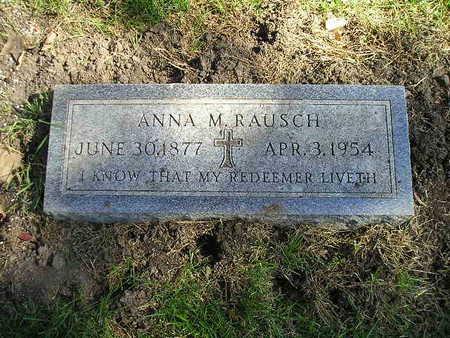RAUSCH, ANNA M - Bremer County, Iowa | ANNA M RAUSCH