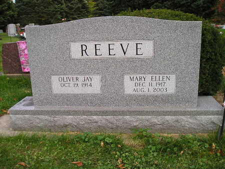 REEVE, MARY ELLEN - Bremer County, Iowa | MARY ELLEN REEVE