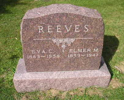 REEVES, EVA C. - Bremer County, Iowa | EVA C. REEVES