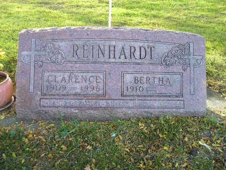 REINHARDT, CLARENCE - Bremer County, Iowa | CLARENCE REINHARDT