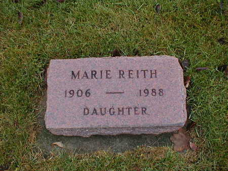 REITH, MARIE - Bremer County, Iowa | MARIE REITH