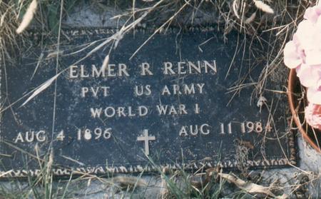 RENN, ELMER - Bremer County, Iowa | ELMER RENN