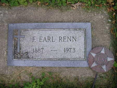 RENN, F EARL - Bremer County, Iowa | F EARL RENN