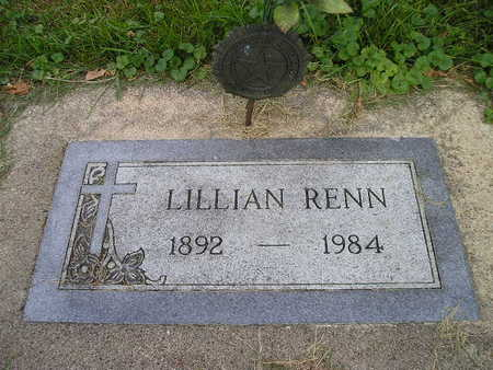 RENN, LILLIAN - Bremer County, Iowa | LILLIAN RENN