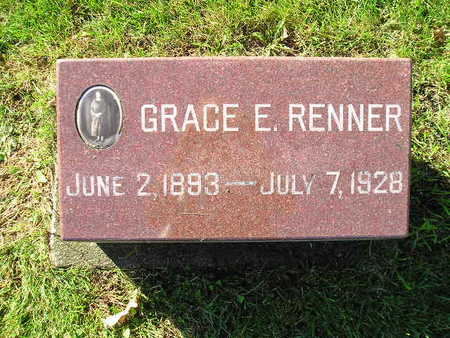 RENNER, GRACE E - Bremer County, Iowa | GRACE E RENNER