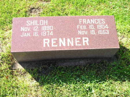 RENNER, FRANCES - Bremer County, Iowa | FRANCES RENNER