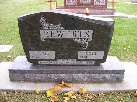 REWERTS, ERNIE - Bremer County, Iowa | ERNIE REWERTS