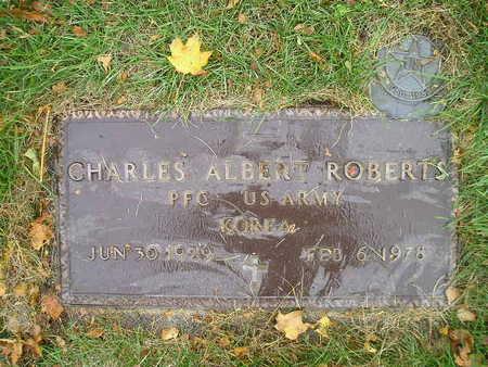 ROBERTS, CHARLES ALBERT - Bremer County, Iowa | CHARLES ALBERT ROBERTS