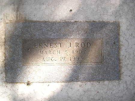 ROD, ERNEST J - Bremer County, Iowa | ERNEST J ROD