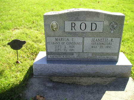 ROD, MARVIN C - Bremer County, Iowa | MARVIN C ROD