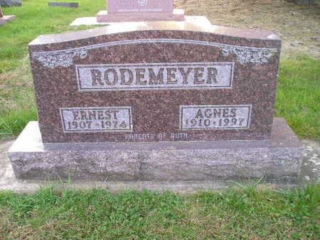 RODEMEYER, ERNEST - Bremer County, Iowa | ERNEST RODEMEYER
