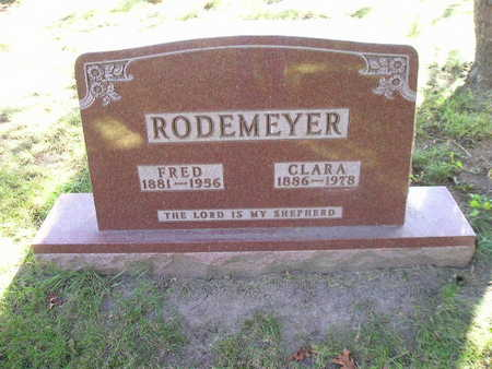 RODEMEYER, CLARA - Bremer County, Iowa | CLARA RODEMEYER