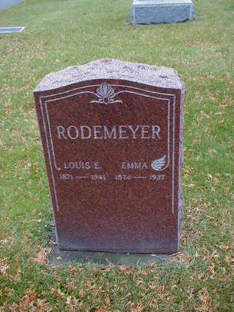 RODEMEYER, LOUIS E - Bremer County, Iowa | LOUIS E RODEMEYER