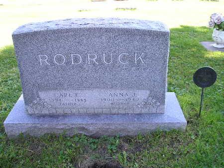 RODRUCK, ANNA J - Bremer County, Iowa | ANNA J RODRUCK