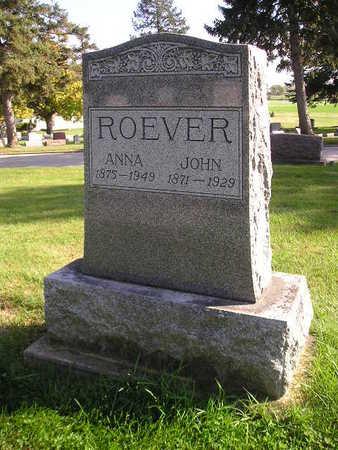 ROEVER, JOHN - Bremer County, Iowa | JOHN ROEVER
