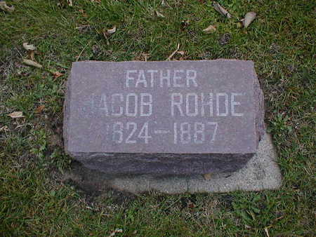 ROHDE, JACOB - Bremer County, Iowa | JACOB ROHDE