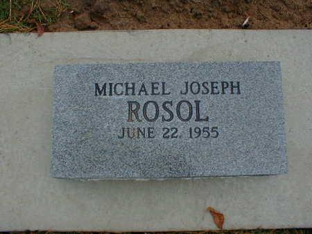 ROSOL, MICHAEL JOSEPH - Bremer County, Iowa | MICHAEL JOSEPH ROSOL