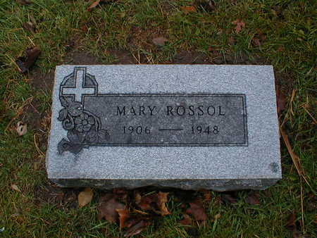 ROSSOL, MARY - Bremer County, Iowa | MARY ROSSOL